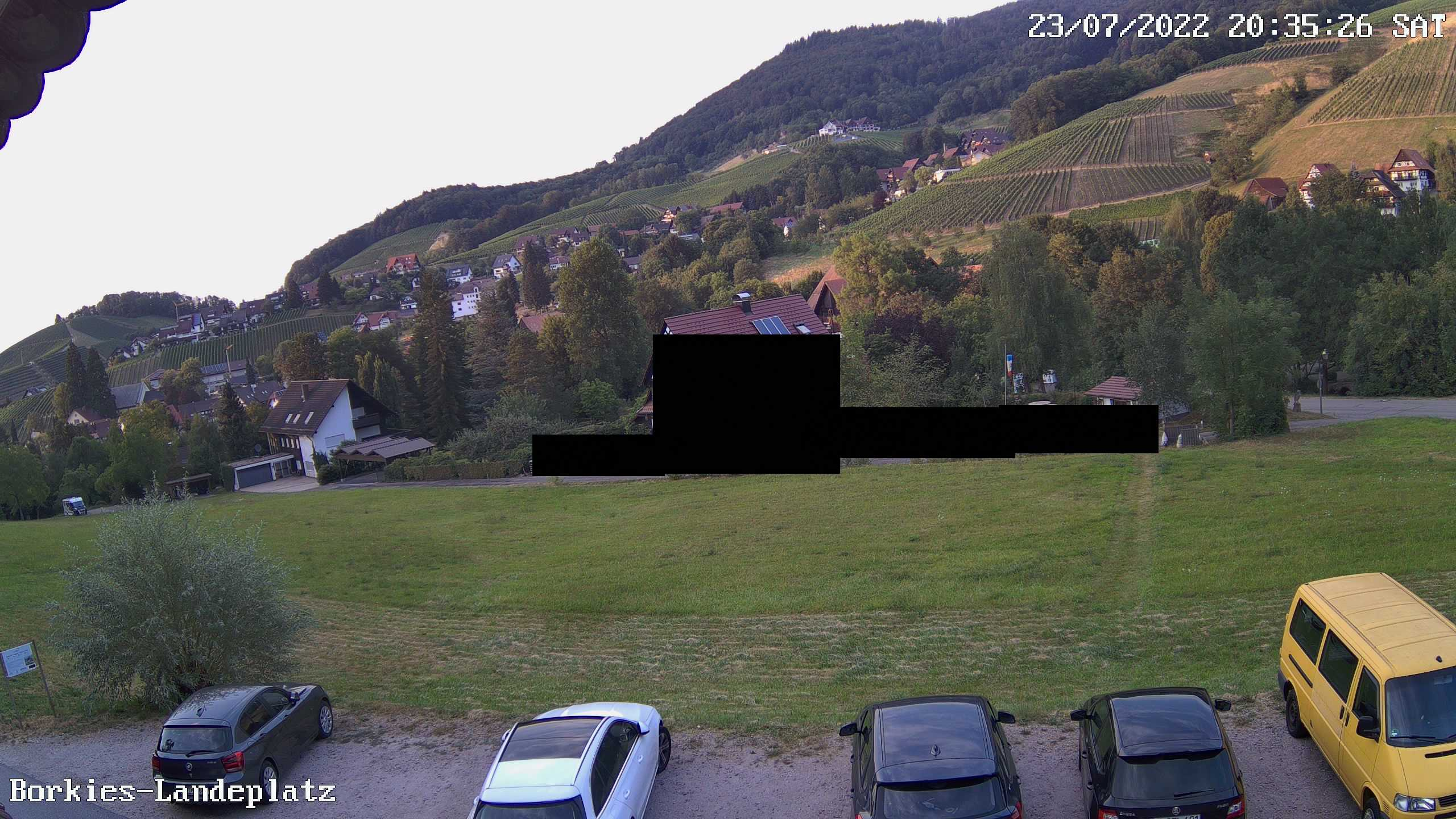 Webcam Landeplatz