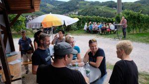 Bewirtung Weinstand WG + Borkies Stammtisch September @ Bildstöckchen Alde Gott